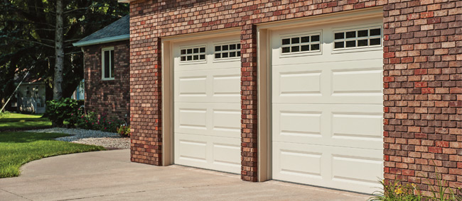 Image Of Raised Panel Garage Door On Aarons Garage Door Service In San  Antonio, Austin, New Braunfels, San Marcos, And Marble Falls