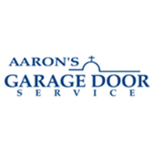 image of aarons garage door service logo on aarons garage door service in san antonio, austin, new braunfels, san marcos, and marble falls