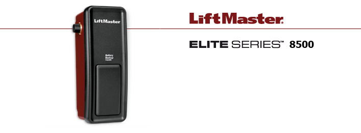 image of liftmaster 8500 aarons garage door service in san antonio, austin, new braunfels, san marcos, and marble falls